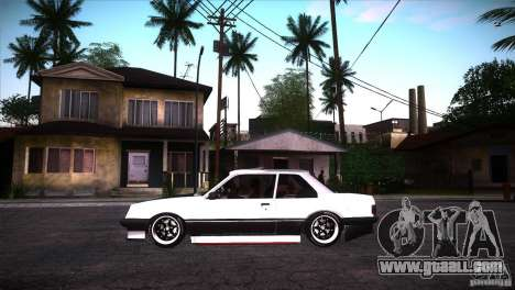 Opel Ascona Tuning Edition for GTA San Andreas left view
