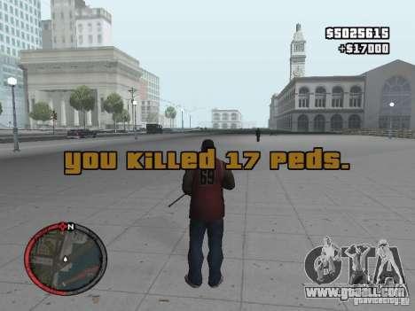 MASSKILL for GTA San Andreas