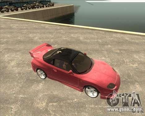 Mitsubishi FTO VeilSide for GTA San Andreas back left view