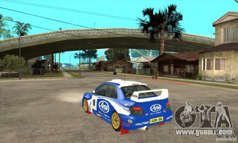 Subaru Impreza STi WRC wht1 for GTA San Andreas right view