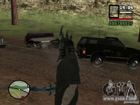 Helmet Ner Zula for GTA San Andreas third screenshot