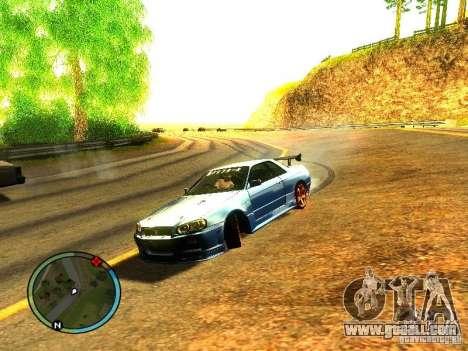 Nissan Skyline B324R for GTA San Andreas