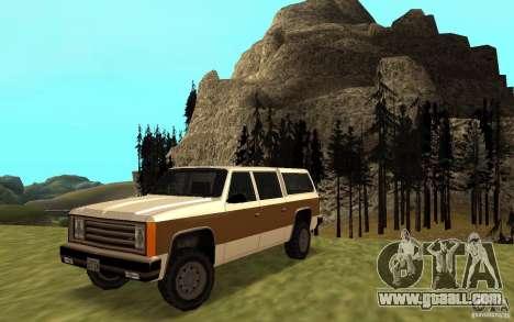 A Civilian FBI Rancher for GTA San Andreas