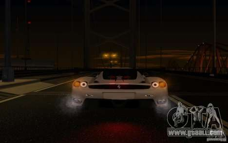 Ferrari Enzo ImVehFt for GTA San Andreas upper view