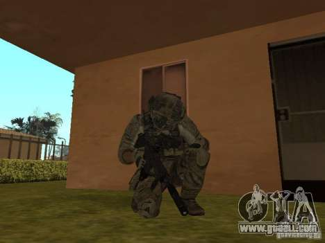 M4A1 with ACOG from CoD MW3 for GTA San Andreas second screenshot