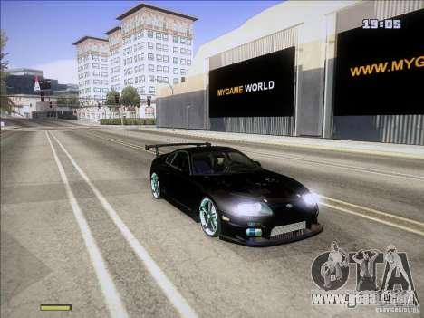 Toyota Supra v2 (MyGame Drift Team) for GTA San Andreas