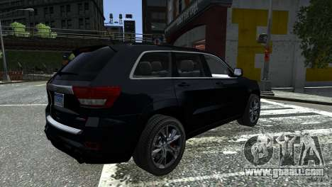 Jeep Grand Cherokee STR8 2012 for GTA 4 left view