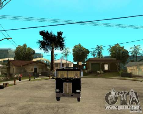 Peterbilt for GTA San Andreas back view