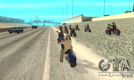 BikersInSa (The BIKERS In SAN ANDREAS) for GTA San Andreas
