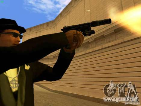 USP45 Tactical for GTA San Andreas seventh screenshot