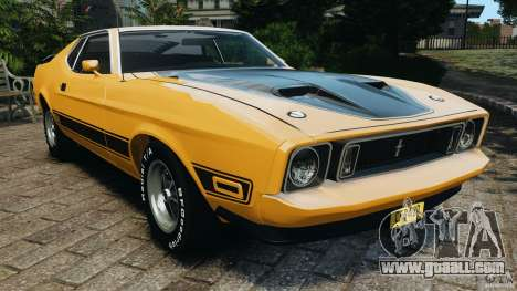 Ford Mustang Mach 1 1973 for GTA 4