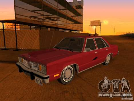 Ford Fairmont 4dr 1978 for GTA San Andreas