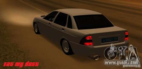 Lada Priora Light Tuning for GTA San Andreas left view