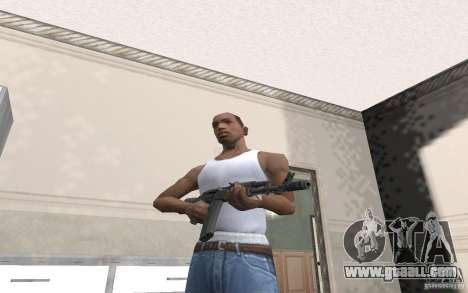 AK-74 m for GTA San Andreas second screenshot