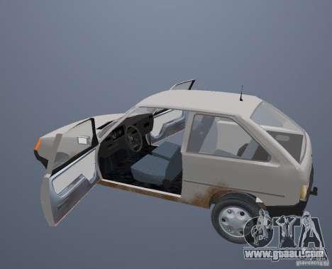 ZAZ 1102 Tavria for GTA San Andreas upper view