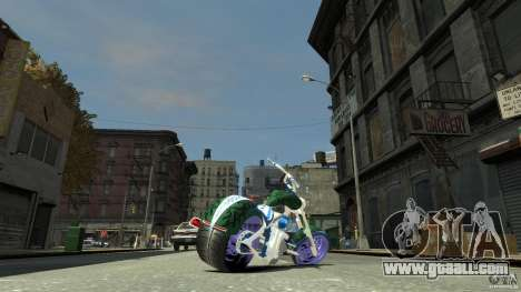 HellFire Chopper for GTA 4 left view