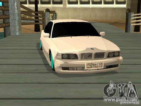 BMW 750i JDM for GTA San Andreas right view