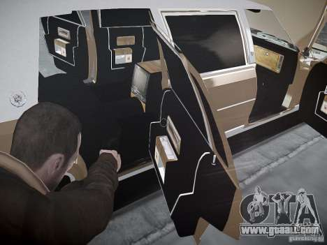 Cadillac Fleetwood 1985 for GTA 4 upper view