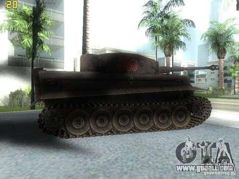 Tiger for GTA San Andreas