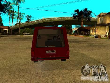 AZLK 2901 for GTA San Andreas right view