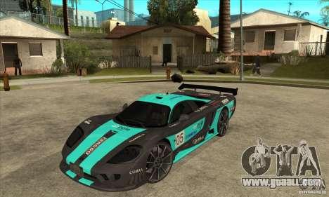 Saleen S7 Twin Turbo for GTA San Andreas
