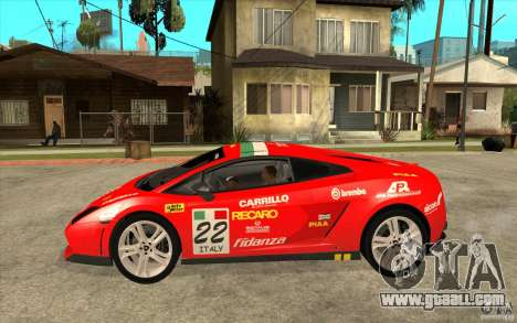 Lamborghini Gallardo LP560 for GTA San Andreas left view
