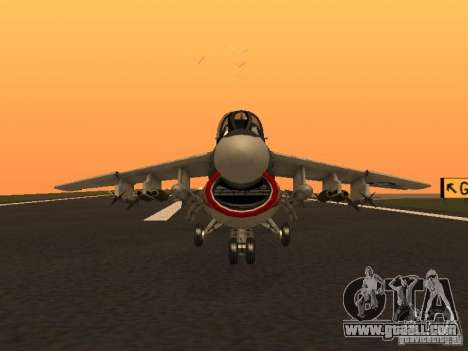 A-7 Corsair II for GTA San Andreas