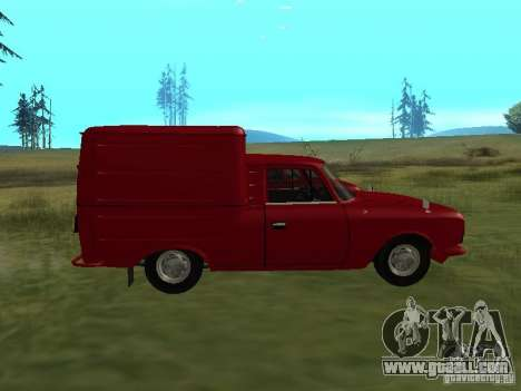 Izh 2715 1982 for GTA San Andreas left view