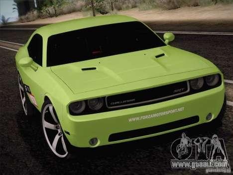 Dodge Challenger SRT8 2010 for GTA San Andreas left view