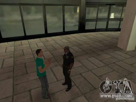 SFnews or the opportunity to give an interview for GTA San Andreas second screenshot
