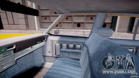 Chevrolet Impala Taxi 1983 [Final] for GTA 4 inner view
