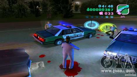 The flowing of the blood for GTA Vice City second screenshot