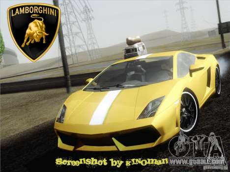 Lamborghini Gallardo LP640 Vallentino Balboni for GTA San Andreas