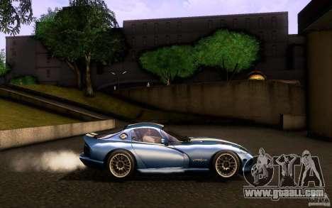 Dodge Viper GTS Coupe TT Black Revel for GTA San Andreas inner view