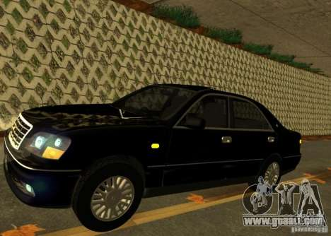 Toyota Crown Majesta S170 for GTA San Andreas back left view