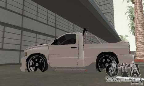 Dodge Ram SRT-10 Tuning for GTA San Andreas right view