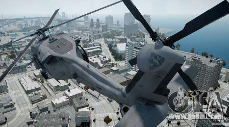 HH-60G Pavehawk for GTA 4 inner view