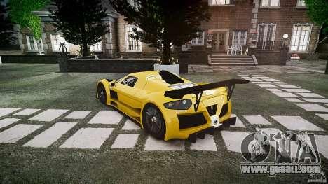 Gumpert Apollo Sport v1 2010 for GTA 4 right view
