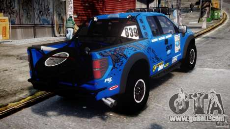 Ford F150 Racing Raptor XT 2011 for GTA 4 side view