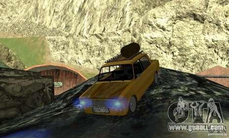 VAZ 2101 RAT LOOK for GTA San Andreas