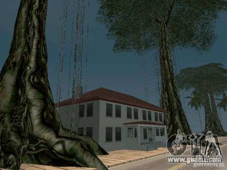 The mystery of the tropical islands for GTA San Andreas third screenshot