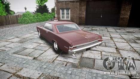 Pontiac GTO 1965 for GTA 4 side view