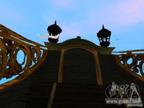 Queen Annes Revenge for GTA San Andreas inner view