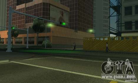 Neon color lamps for GTA San Andreas