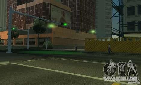 Neon color lamps for GTA San Andreas sixth screenshot