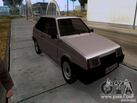 VAZ 2108 drain for GTA San Andreas right view