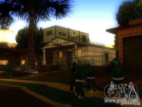 Base of Grove Street for GTA San Andreas