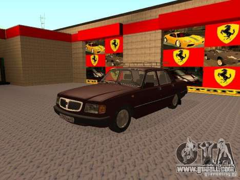 GAZ 3110 VOLGA v1.0 for GTA San Andreas
