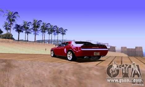 Dodge Challenger SRT8 2009 for GTA San Andreas left view
