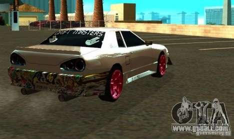 Elegy Drift Masters Final for GTA San Andreas back view